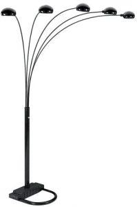 Arm Arch Floor Lamp, Black