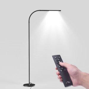 LED Modern Black Floor Lamps