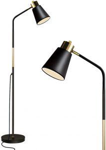Modern Industrial Black Floor Lamp