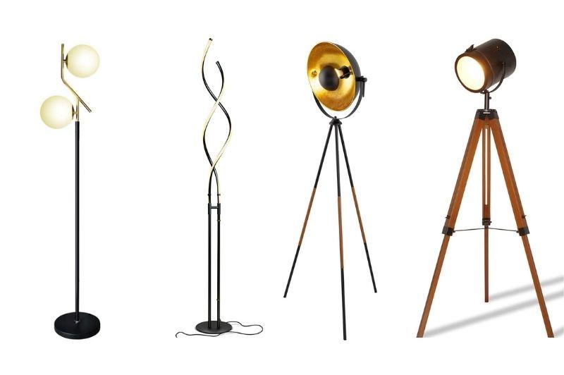 Modern Black Floor Lamps