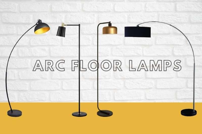 Black Arc Floor Lamps