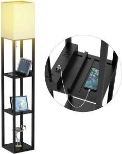 Floor Lamp with Shelves - Shelf Floor Lamps