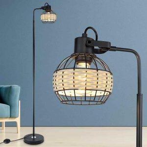 LED Arc Black Floor Lamp